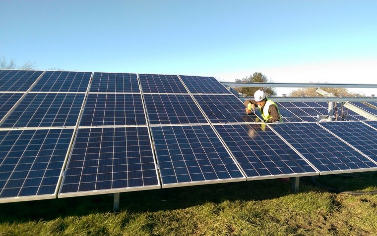 Penycae 5 MW Solar Park in UK and next move to France
